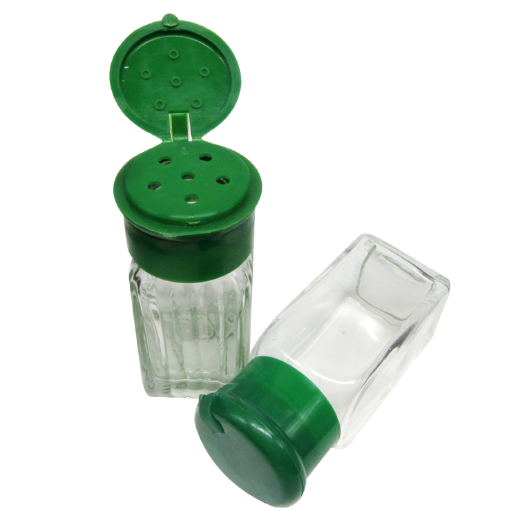 Bulk Mini 65ml Glass Jar Kitchen Use Glass Container with Shaker for Spice