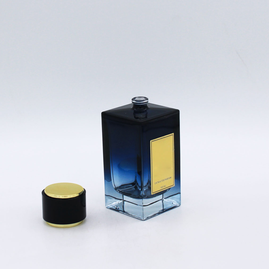 gradual coating empty vintage 100ml luxury glass perfume fancy bottles for sale