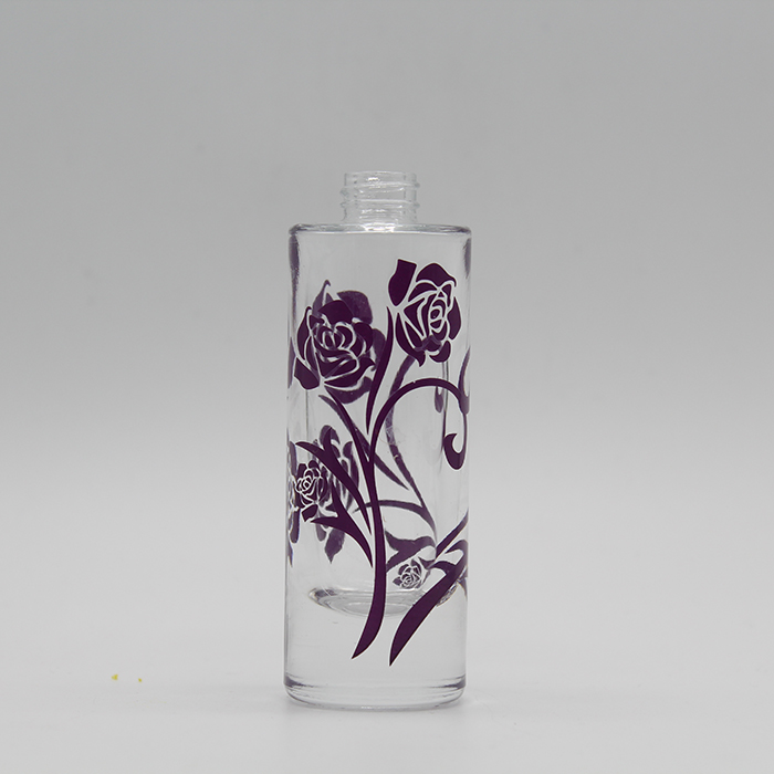 design your own perfume bottle cosmetic packing spray glass bottle