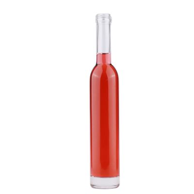 375ml Long Neck  Ice Wine Glass Bottle with Screw Cap