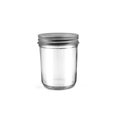 Mason Jars 150ml Wide Mouth Glass Jar with Gold Lids For Honey