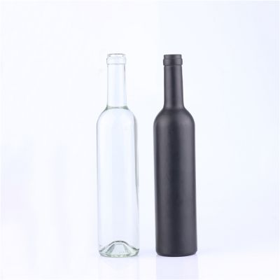 Factory Price Thick Bottom Glass Wine Bottle Vodka Bottle thickening