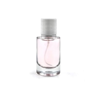 Classical Fashion empty 30 ml transparent glass perfume bottle with cap