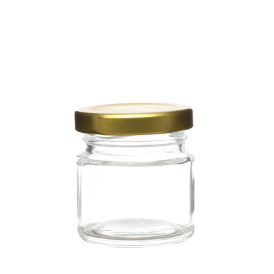 30ml Mini Unique Bird Nest Jars For Honey Food Packaging glass jar
