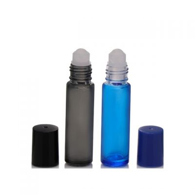 10ml Glass Roll On Bottles with metal ball Essential Oil 1/3 oz Glass roller bottles