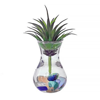 Wholesale Cheap Mini Small Clear Hydroponic Glass Hyacinth Bud Vase