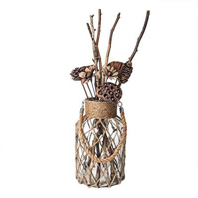 Decorative decor vintage Dried Flowers Vase for decorations