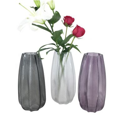 Crystal Flower and Filler Glass Vase big for Home and Wedding Boreal Europe style