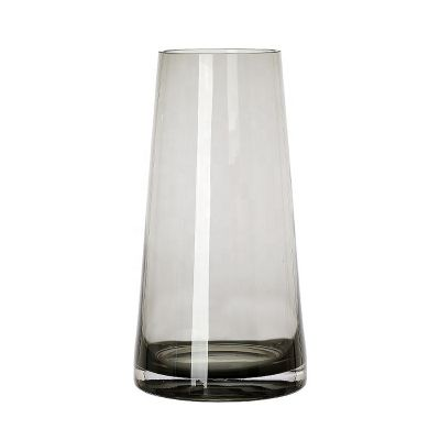 Modern simple style flower glass vase for home decoration wedding