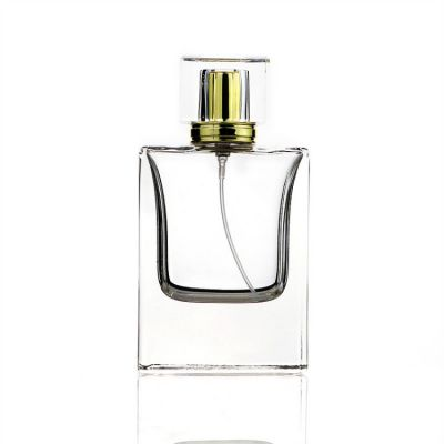 Cosmetic Packaging Empty 55ml Glass Perfume Spray Bottle