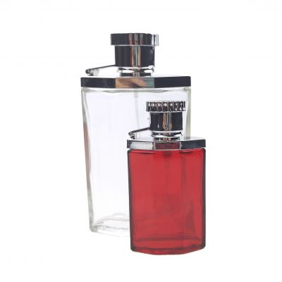 25ml New Product Clear Glass Perfume Bottle