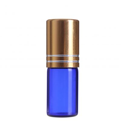 High borosilicate eye roller roll on bottles 3ml glass bottle