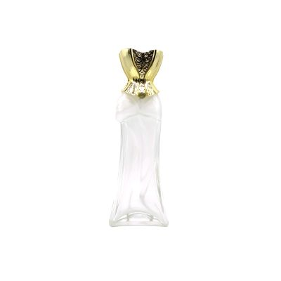 2019 goddess modeling large capacity 90ml glass perfume bottle