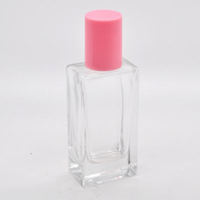 Wholesale China factory direct sales cheap square 30ml empty perfume glass bottles