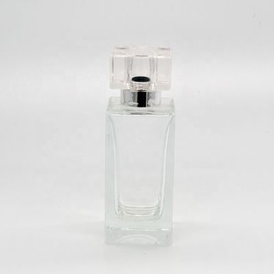 Recycling Transparent Factory Supply 50ml High Quality New Product Spray Glass Perfume Bottle