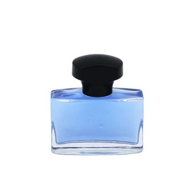 portable 30ml 50ml empty transparent china perfume container wholesale glass bottles